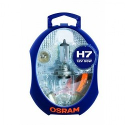 Caja de lamparas h7 osram
